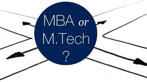 Mba In Tech by Why Do Iitians Go For Mba Than M Tech Aftergraduation