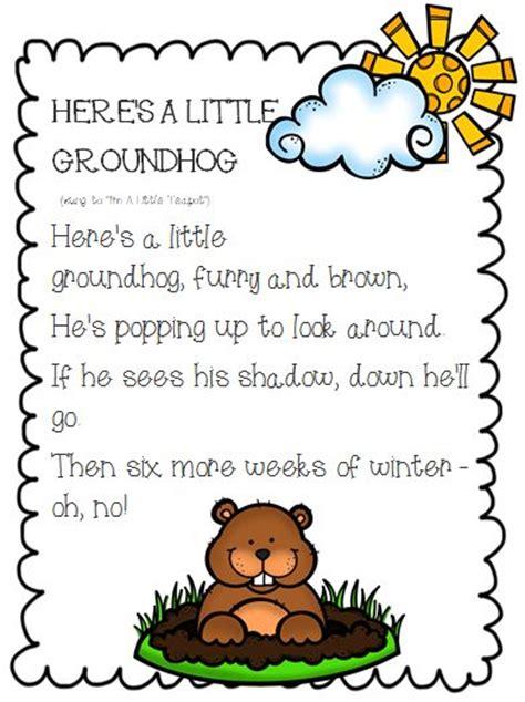 groundhog day theme song best photos of groundhog day poem kindergarten groundhog