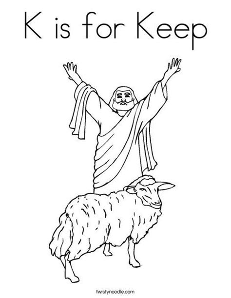 shepherd with sheep coloring page awanas sparks