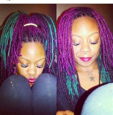 loc and twist hairstyles with color 217 best hair styles for locs dreadlocks braids