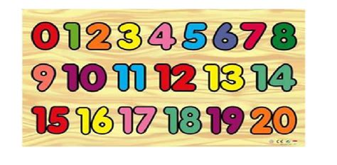 Puzzle Kayu Angka 1 20 jual mainan edukatif edukasi anak balok kayu puzzle