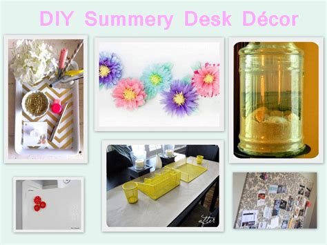 Desk Decor Diy Office Inspiration 6 Summery Diy Desk D 233 Cor Projects Careerbliss