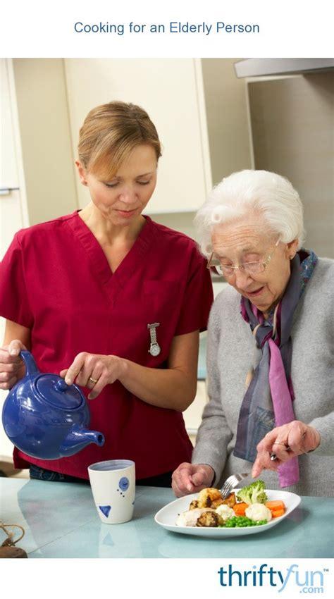 cooking   elderly person thriftyfun