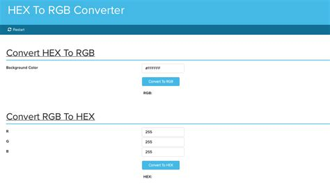 hex color converter hex to rgb converter gigabook