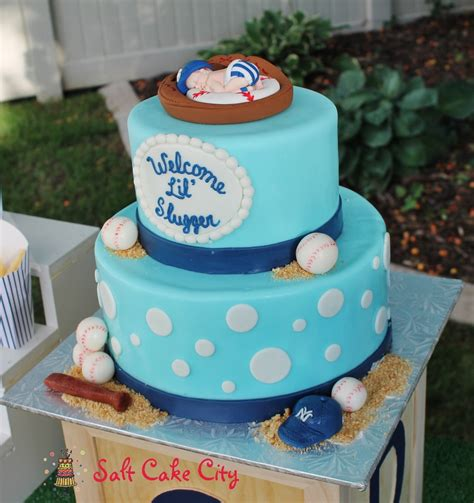 Baseball Themed Baby Shower by Baseball Themed Baby Shower Cake Cakecentral