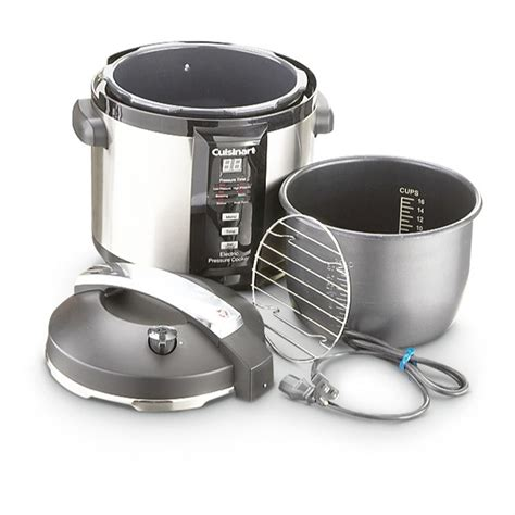 refurbished kitchen appliances cuisinart 174 6 qt electric pressure cooker factory