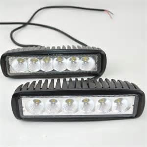 12 volt led light bar 12 volt 18w led work light bar l 12v led tractor work