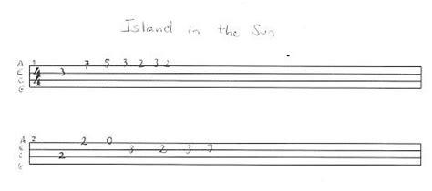 ukulele tutorial island in the sun tutorial ukulele island in the sun weezer par aldrine