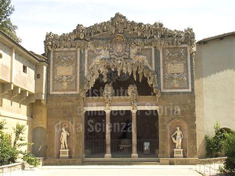 giardino di boboli storia immagine facciata della grotta buontalenti grotta gran