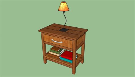 diy side table plans howtospecialist how to build how to build a bedside table howtospecialist how to