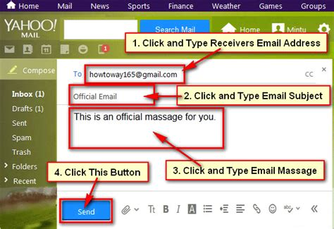 Yahoo Mail Email Address Search How To Send An Email Using Yahoo Mail Account