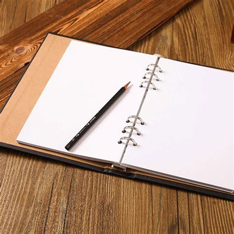 8 Fab Notebooks To Write In by A5 Blank Spiral Notebook Paper 80 Sheets Sketchbook Diary
