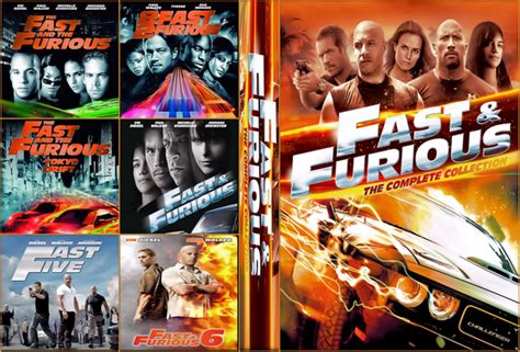 fast and furious dvd set fast furious 7 movie collection 2015 cu blu ray front