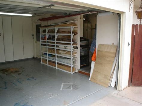 Garage Wood Storage by Garage And Wood Storage System In