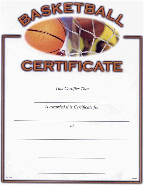 templates for basketball certificates blank certificate templates kiddo shelter