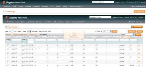 layout update magento config xml layout on refresh or on sorting a new grid open inside