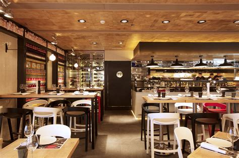 Restaurant Open Kitchen Design Vi Cool Restaurant Design Hong Kong By Concrete Caandesign Architecture And Home Design