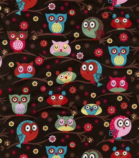 Owl Quilting Fabric by Novelty Quilt Fabric Owls In Trees At Joann