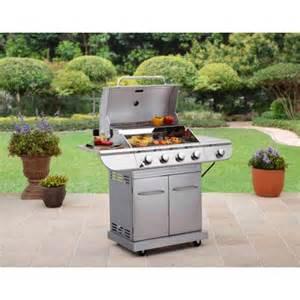Walmart Backyard Grill 4 Burner Better Homes And Gardens Stainless Steel 4 Burner Gas