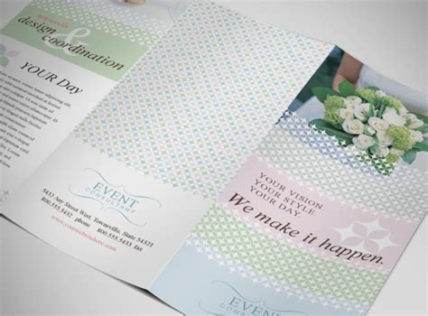 wedding brochure templates wedding planner template images pin event planner