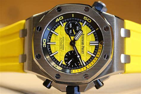 Audemars Piguet Royal Oak Offshore Diver Chrono Black professional watches my current crush the multi