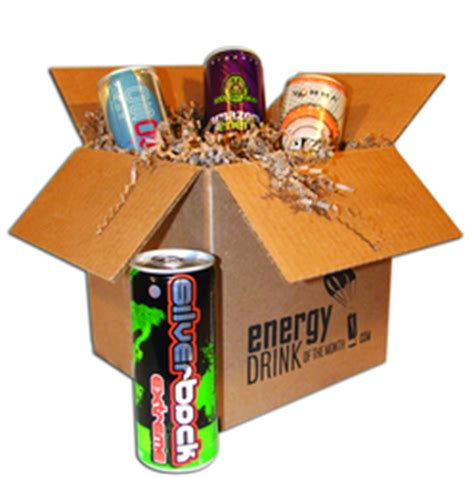 1 energy drink a month get your buzz on with new energy drinks delivered monthly