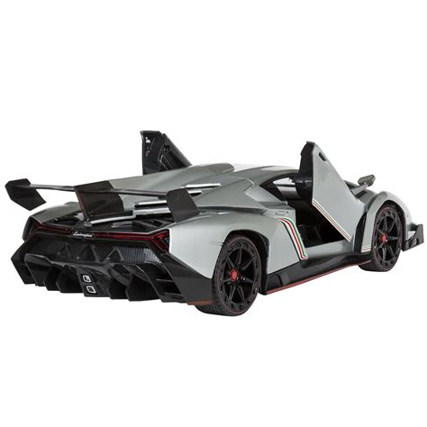 Rc Races Lamborgini Imitation 1 14 scale rc lamborghini veneno gravity sensor radio remote car silver ebay