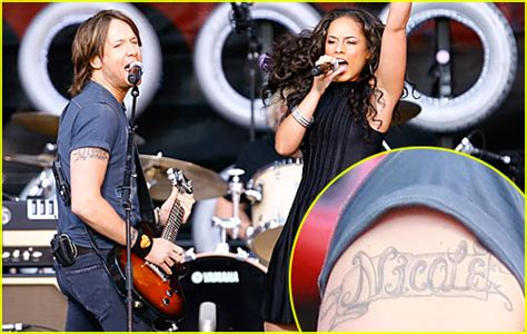 keith urban tattoo arm link time popsugar