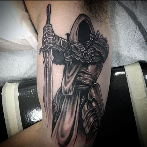 cross shield tattoo 50 sword tattoos for a sharp sense of sophistication