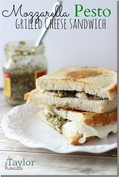 Link Mozzarella And Pesto Grilled Cheese by Best 25 Pesto Grilled Cheeses Ideas On