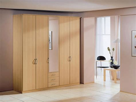 Big Wardrobe Kendal 5 Door 1 Mirror Wardrobe With 3 Drawers Warehouse