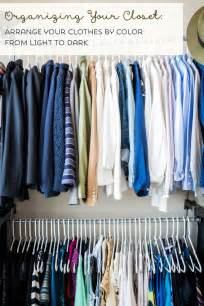 Organize Clothes ways to organize your clothes in your closet winda 7
