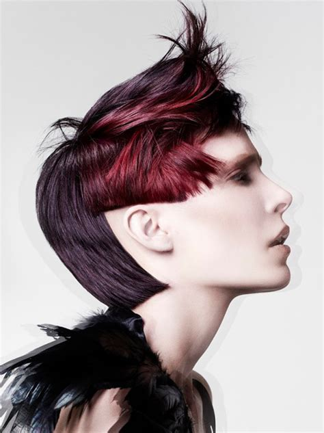 womens short bi level haircut pictures new short punk hairstyles for women short bi