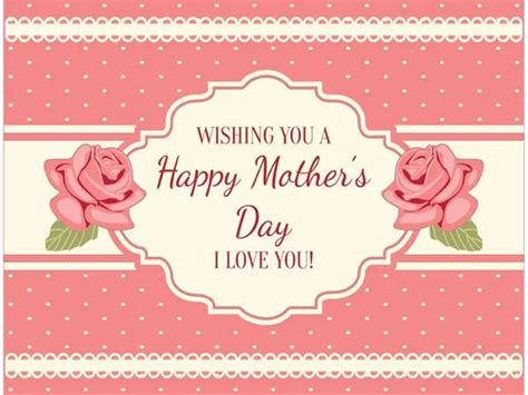 template day card 9 free mothers day cards free premium templates