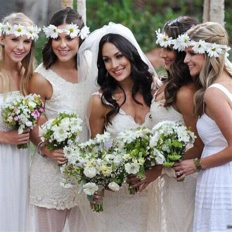 Bridal Party from Brie Bella and Daniel Bryan's Wedding