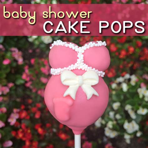 How To Make Cake Pops For Baby Shower Boy by Easy Baby Shower Cake Pops