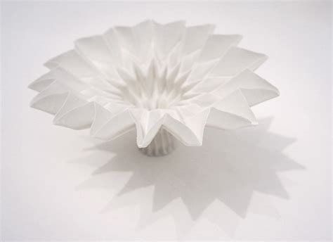 Origami Pottery - design igarashi s porcelain origami cfile