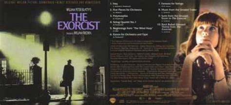 exorcist film music the exorcist front back soundtrack the exorcist photo