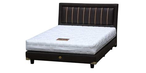 Bed Bigland Tahun big land springbed new silver plus harga diskon promo