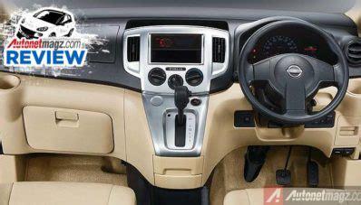 Harga Karpet Dasar Nissan Evalia impression review nissan evalia facelift 2014