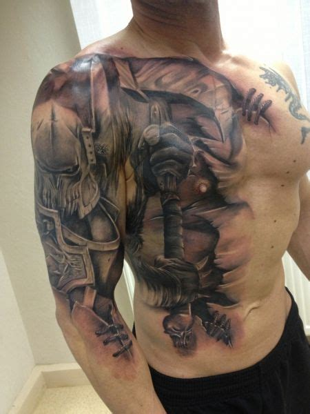 knight and dragon tattoo designs awesome battle interesting running it from
