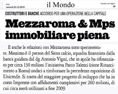 Banca Mps Posta Da Casa by Tg Roma Talenti 10 01 2012 11 01 2012