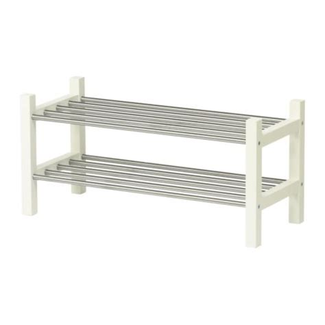 ikea racks tjusig shoe rack white ikea
