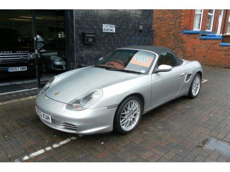 used porsche boxster 2002 petrol 2 7 228 2dr convertible