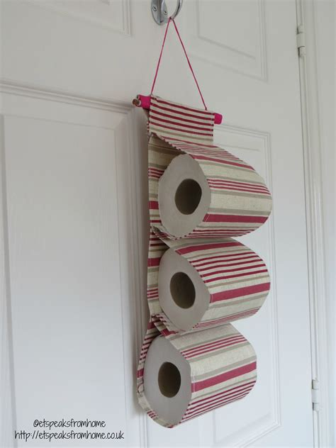 toilet paper holder diy diy fabric toilet paper holder et speaks from home
