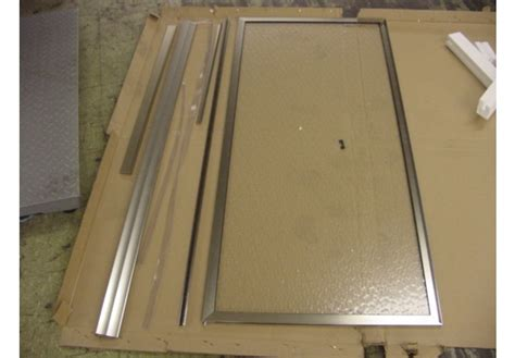 Framed Shower Door Replacement Parts Sears Hinged Shower Shower Door Frame Replacement