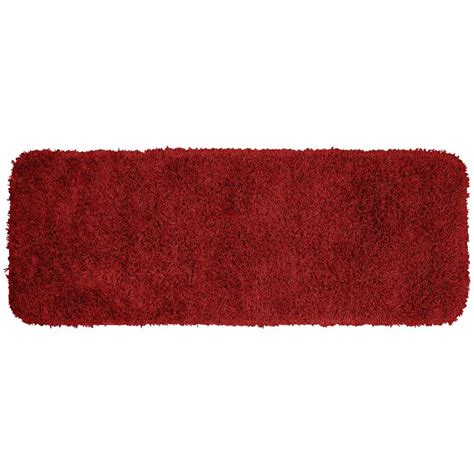 washable accent rugs garland rug jazz chili pepper red 22 in x 60 in washable