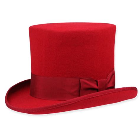 decke rot top hat