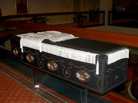 abraham lincoln in coffin the lincoln replica casket will be on display on wednesday