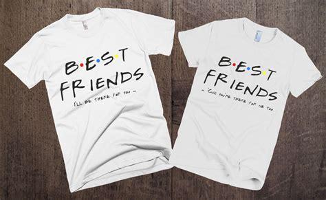 t shirt layout for best friends couple t shirts set best friends set of 2 couple